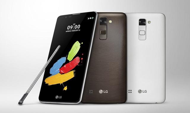 LG ra mắt Stylus 2 tại MWC 2016: Bút cảm ứng không bao giờ thất lạc, giá mềm